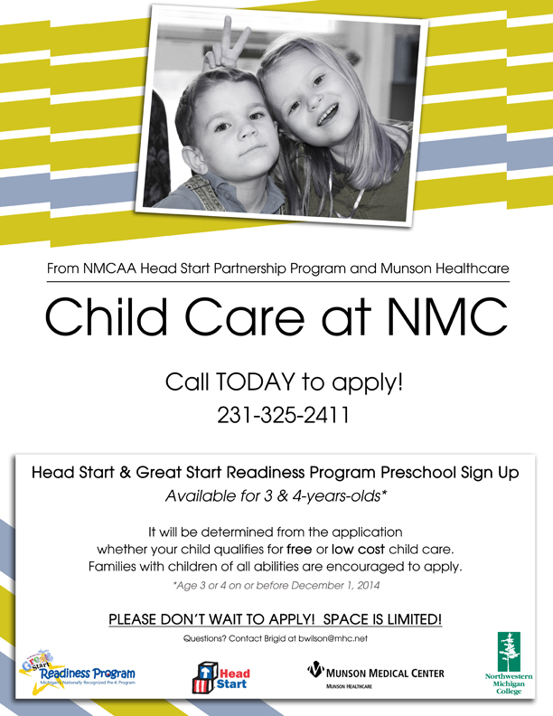 Child care signup