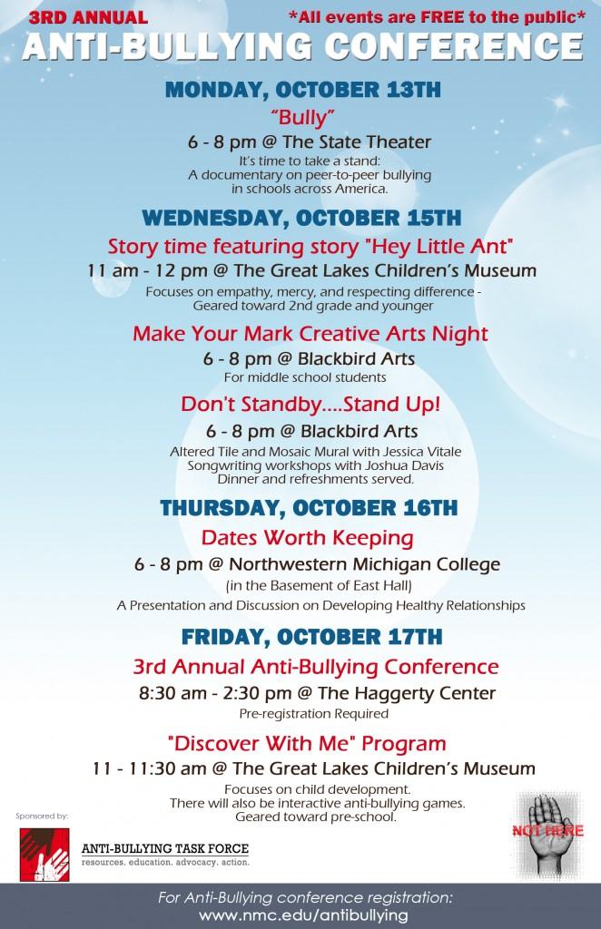 Anti Bullying Week Events 2014