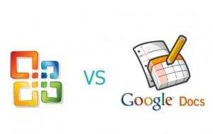 microsoft vs google docs