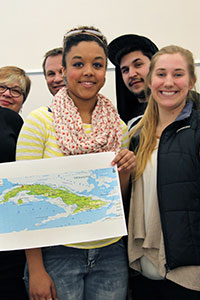 Study abroad students