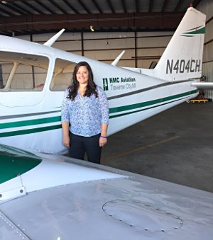 NMC aviation student Kate Hauch
