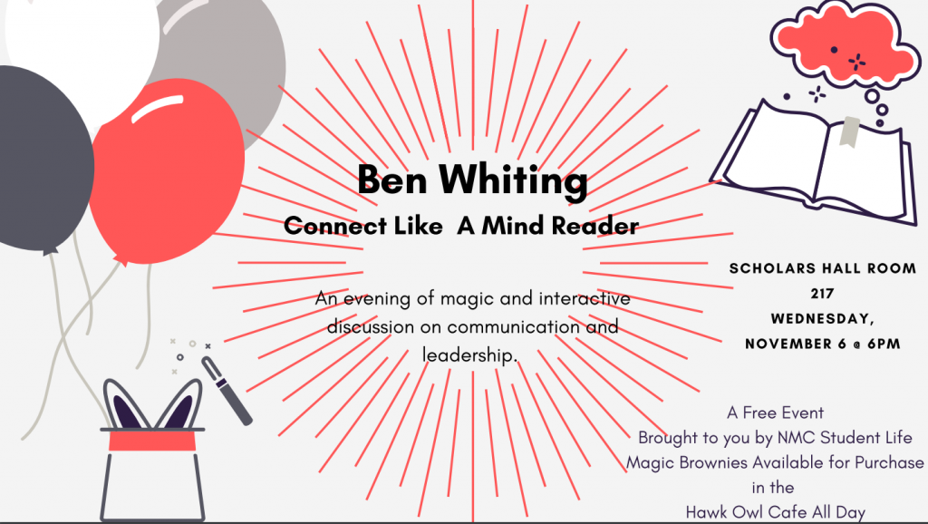 Ben Whiting Flyer