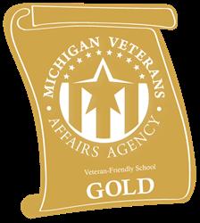 Veteran friendly school logo