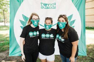 NMC welcome week volunteers
