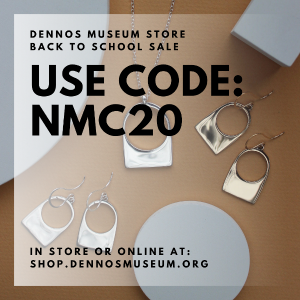 Back To School Sale at the Dennos Museum Store graphic