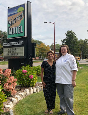 NMC student and Sierra Motel owner