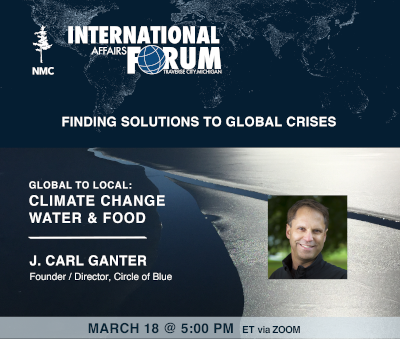 IAF climate event announcement graphic