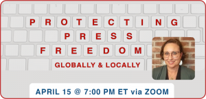 TCIAF protecting press freeedoms graphic