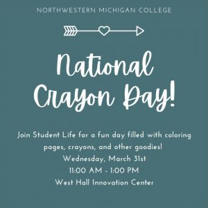 National Crayon Day illustration