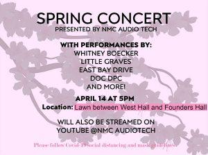Spring concert flyer image