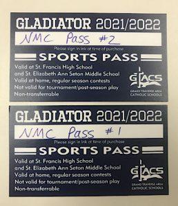 GTACS sports passes