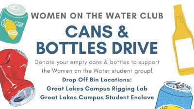 Can & Bottle Drive graphic